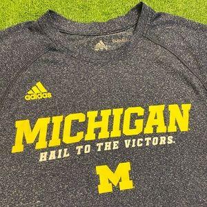 University Of Michigan Adidas Victors Shirt